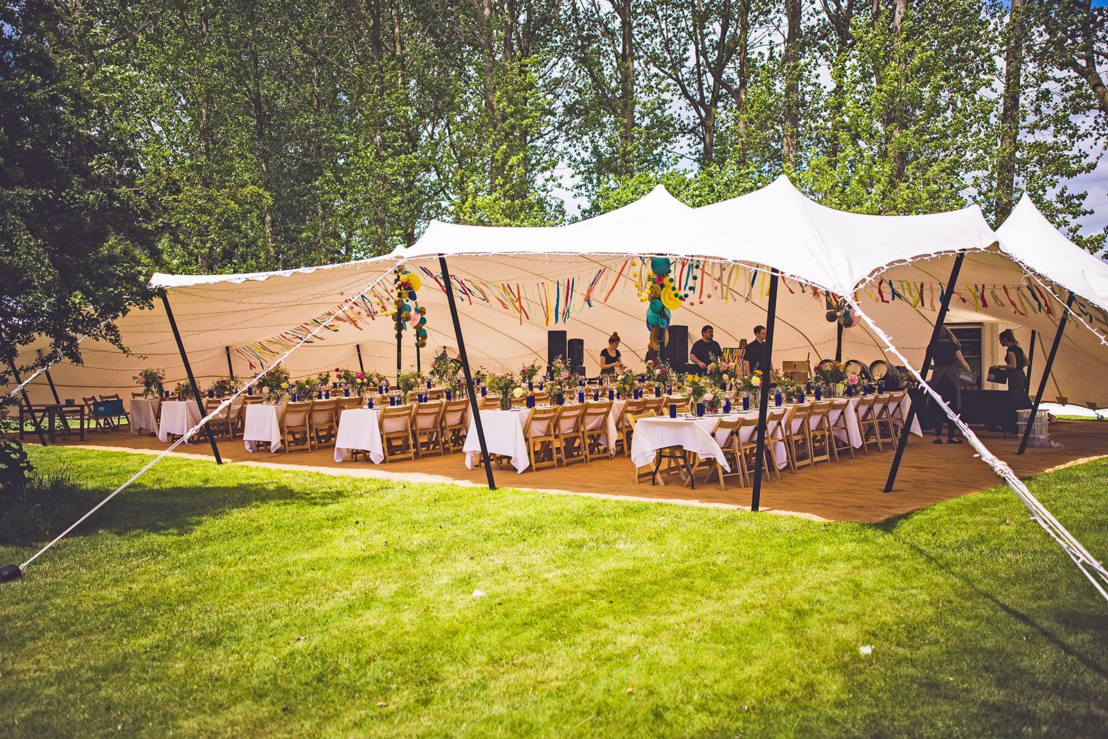 luxury wedding tent hire